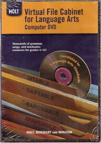 9780030991837: Elements of Language: Virtual File Cabinet DVD