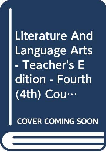9780030992261: Literature And Language Arts - Teacher's Edition - Fourth (4th) Course - California Edition - Warrin