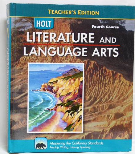 9780030992810: Literature And Language Arts - Teacher's Edition - Fourth (4th) Course - California Standards