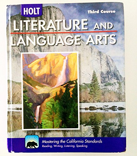 9780030992926: Holt Literature and Language Arts California: Student Edition Grade 9 2009