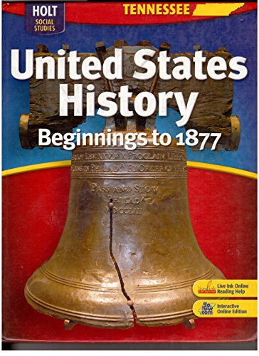 9780030993206: Holt United States History: Student Edition Grades 6-9 Beginnings to 1877 2008