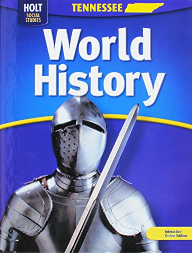 World History (Holt Social Studies): HOLT, RINEHART AND WINSTON