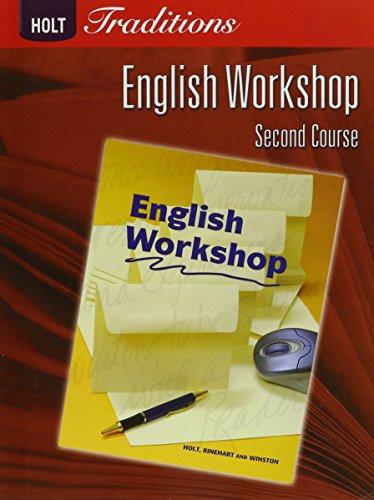 9780030993343: Holt Traditions Warriner's Handbook: English Workshop Workbook Grade 8 Second Course