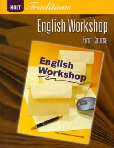 9780030993350: Holt Traditions Warriner's Handbook: English Workshop Workbook Grade 7 First Course