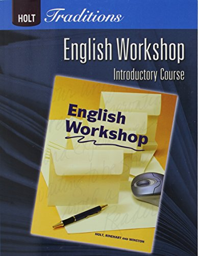 9780030993374: Holt Traditions Warriner's Handbook: English Workshop Workbook Grade 6 Introductory Course