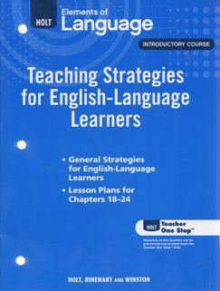 Teaching Strategies for English-Language Learners, Introductory Course
