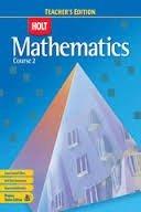 9780030993909: Holt Mathematics Course 2, Nevada Teacher's Edition