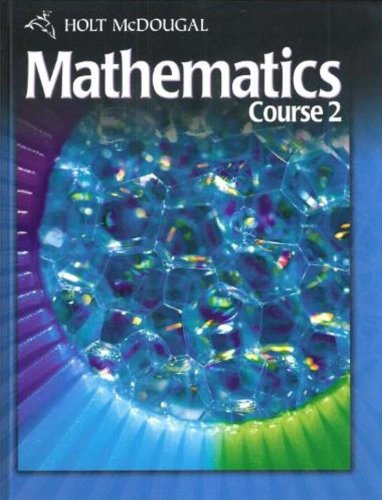 9780030994296: Holt McDougal Mathematics Course 2: Student Edition