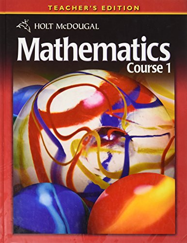 9780030994319: Holt McDougal Mathematics Course 1, Teacher's Edition