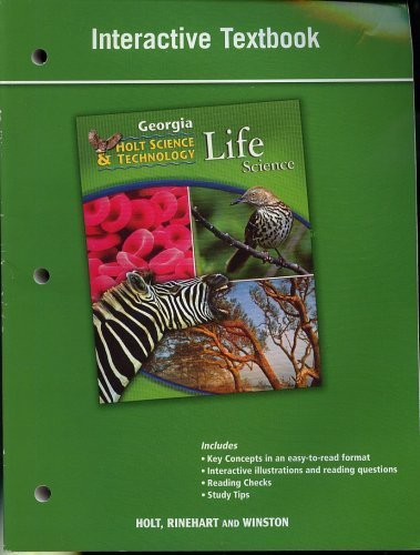 9780030994418: Holt Science and Technology: Life, Earth, and Physical Georgia: Student Interactive Textbook Life