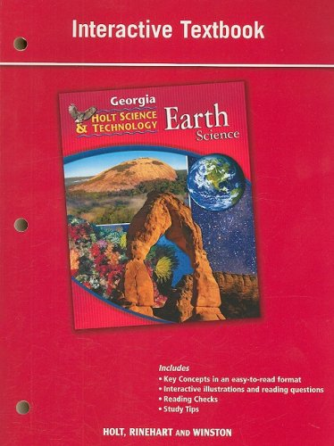 9780030994425: Holt Science and Technology: Life, Earth, and Physical Georgia: Student Interactive Textbook Earth