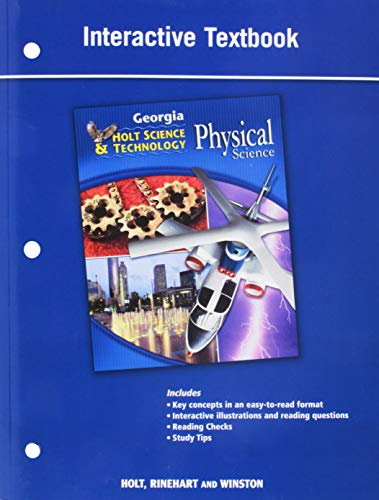 Holt Science and Technology: Life, Earth, and Physical Georgia: Student Interactive Textbook ...