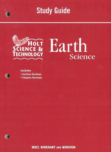 9780030994494: Holt Science and Technology: Life, Earth, and Physical Georgia: Study Guide Earth