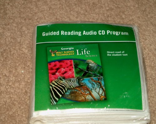 9780030994524: Holt Science & Technology, Life Science (Georgia): Guided Reading Audio CD Program (Holt Science & Technology)
