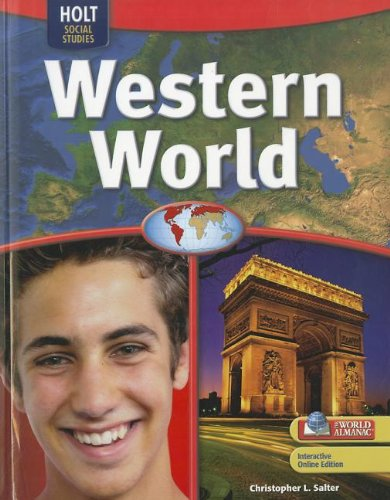 Geography Middle School, Western World: Student Edition 2009: HOLT, RINEHART AND WINSTON