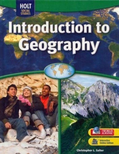 9780030995071: Holt McDougal World Regions: Student Edition Grades 6-8 Intro to Geography 2009
