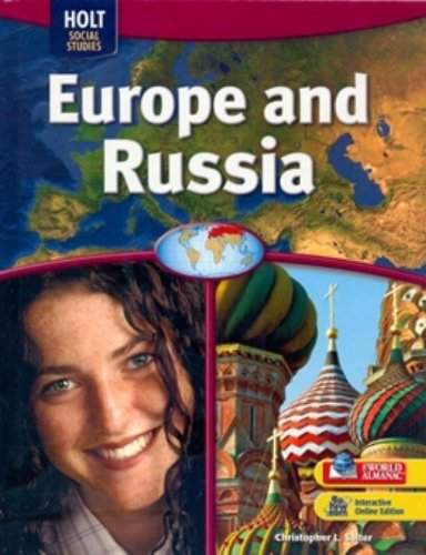 9780030995385: Geography Middle School, Europe and Russia: Student Edition 2009 (Holt Social Studies)
