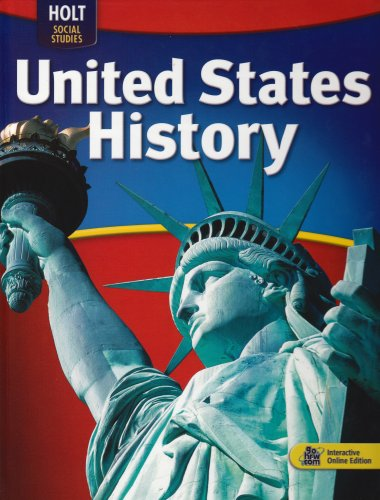 9780030995484: United States History Full Survey: Student Edition 2009