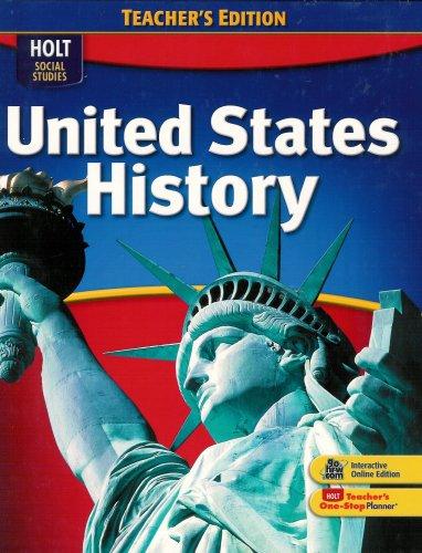 9780030995514: Social Studies United States History 2009 Teacher's Edition