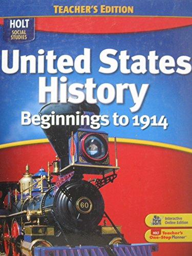 9780030995538: Te Hss: Beginnings to 1914 2009