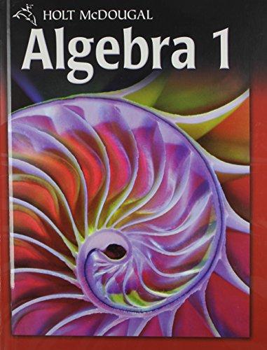 9780030995743: Holt McDougal Algebra 1: Student Edition 2011