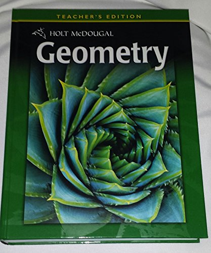 9780030995781: Holt McDougal Geometry: Teacher's Edition 2011