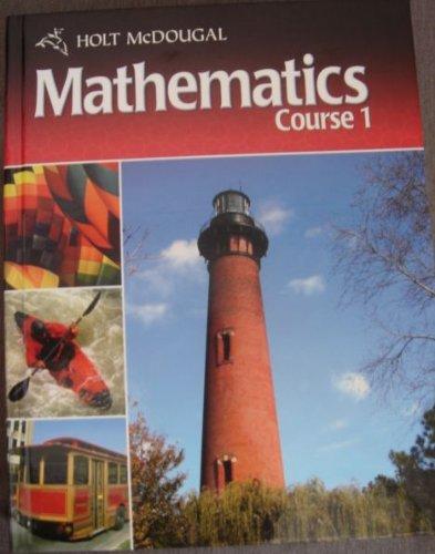9780030995965: Holt McDougal Mathematics North Carolina: Student Edition Course 1 2011