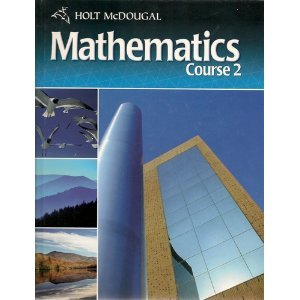 9780030995972: Holt McDougal Mathematics North Carolina: Student Edition Course 2 2011