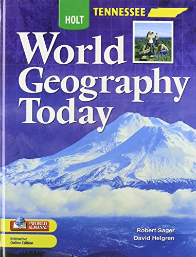 9780030996788: World Geography Today Tennessee: Student Edition Grades 9-12 2008