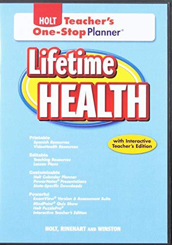 9780030997228: Lifetime Health: Teacher's One-Stop Planner CD-ROM