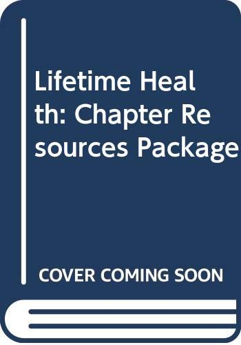9780030997242: Lifetime Health: Chapter Resources Package