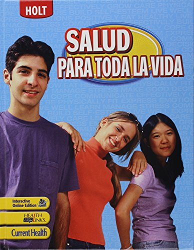 9780030997303: Lifetime Health: Student Edition, Spanish 2009 (Spanish Edition)