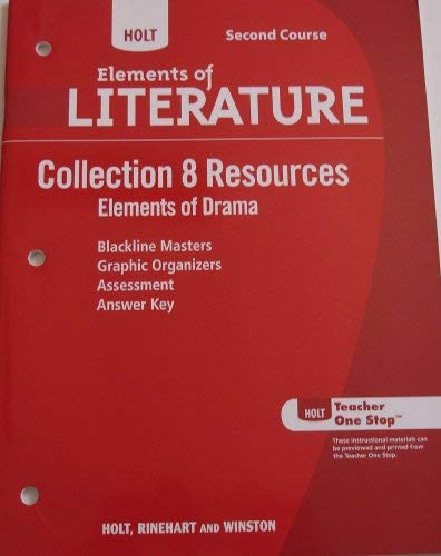 9780030997785: Holt Elements of Literature Second Course: Collection 8 Resources: Elements of Drama