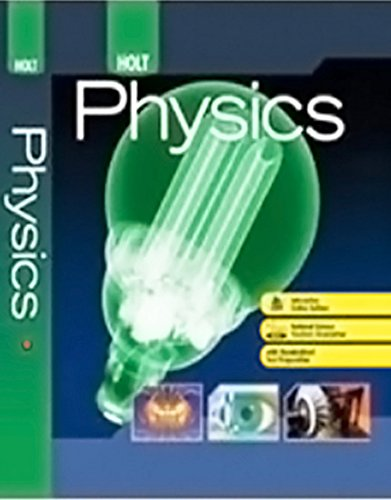 9780030998072: Holt McDougal Physics Solutions Manual