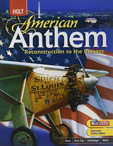 9780030998133: Holt American Anthem: Reconstruction to the Present
