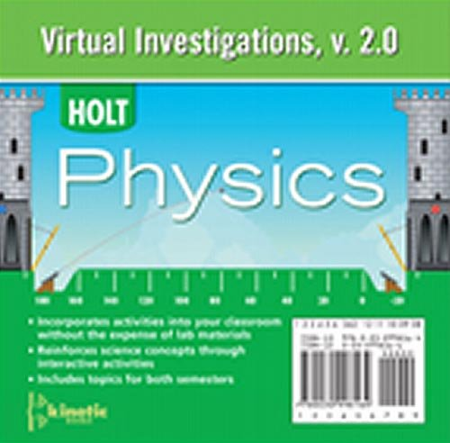 9780030998164: Holt McDougal Physics: Virtual Investigations CD-ROM