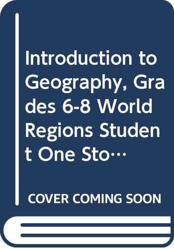 9780030998713: Holt McDougal World Regions: Student One-Stop CD-ROM Grades 6-8 Intro to Geography 2009
