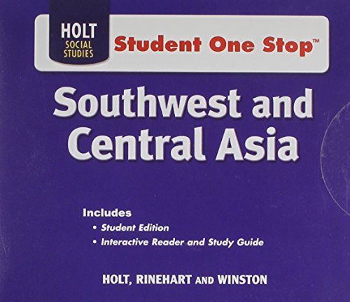 Holt McDougal World Regions: Student One-Stop CD-ROM Grades 6-8 Southwest and Central Asia 2009