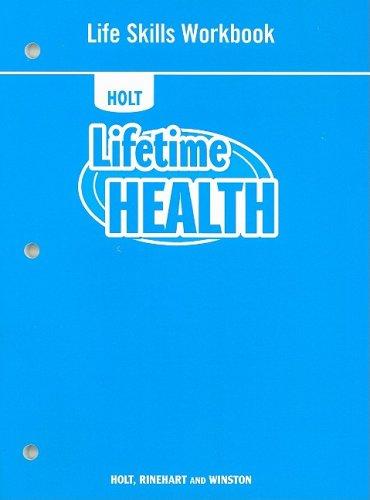9780030999437: Lifetime Health: Life Skills Workbook