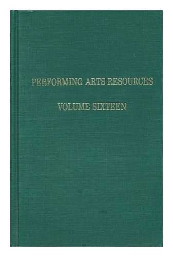 9780032610132: Taking the Pledge and Other Public Amusements (Performing Arts Resources, Vol 16)
