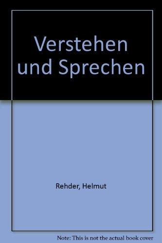 9780039000066: Verstehen und Sprechen