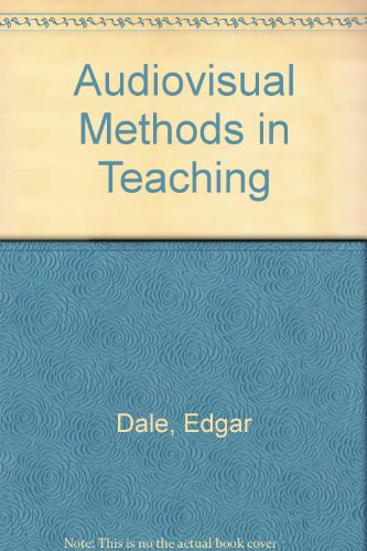 9780039100544: Audiovisual Methods in Teaching
