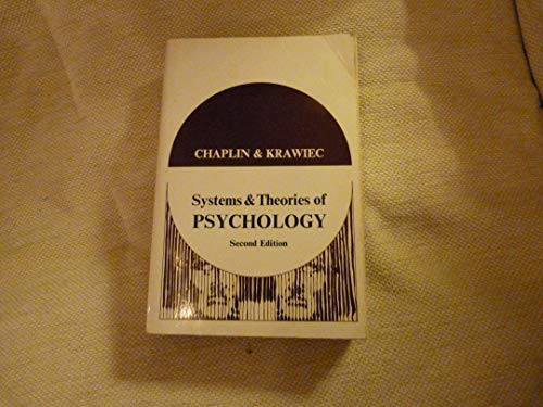 9780039100568: Systems and Theories of Psychology