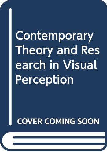 9780039100599: Contemporary Theory and Research in Visual Perception