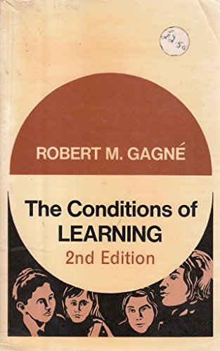 9780039100698: Conditions of Learning