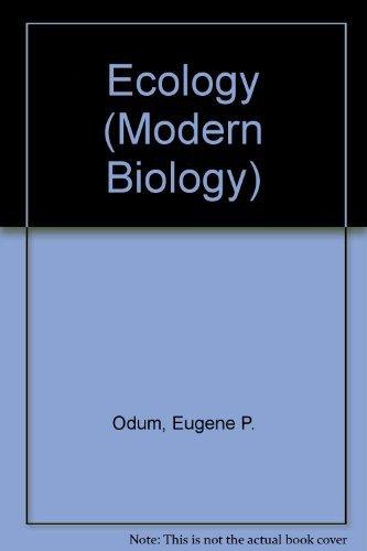 9780039101244: Ecology (Modern Biology)