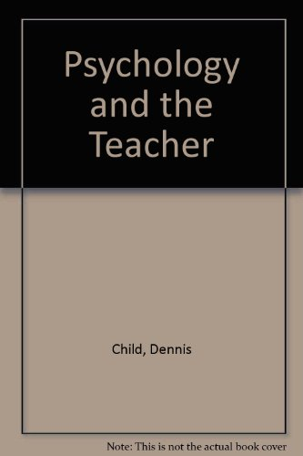 9780039101381: Psychology and the Teacher