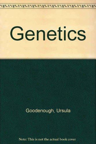 9780039101923: Genetics