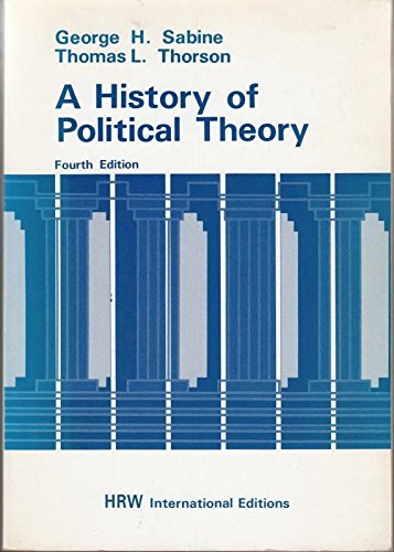 9780039102838: A History of Political Theory