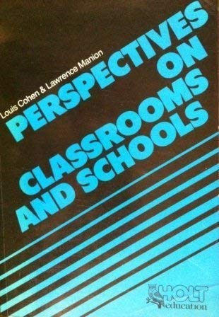 9780039102906: Perspectives on Classrooms and Schools